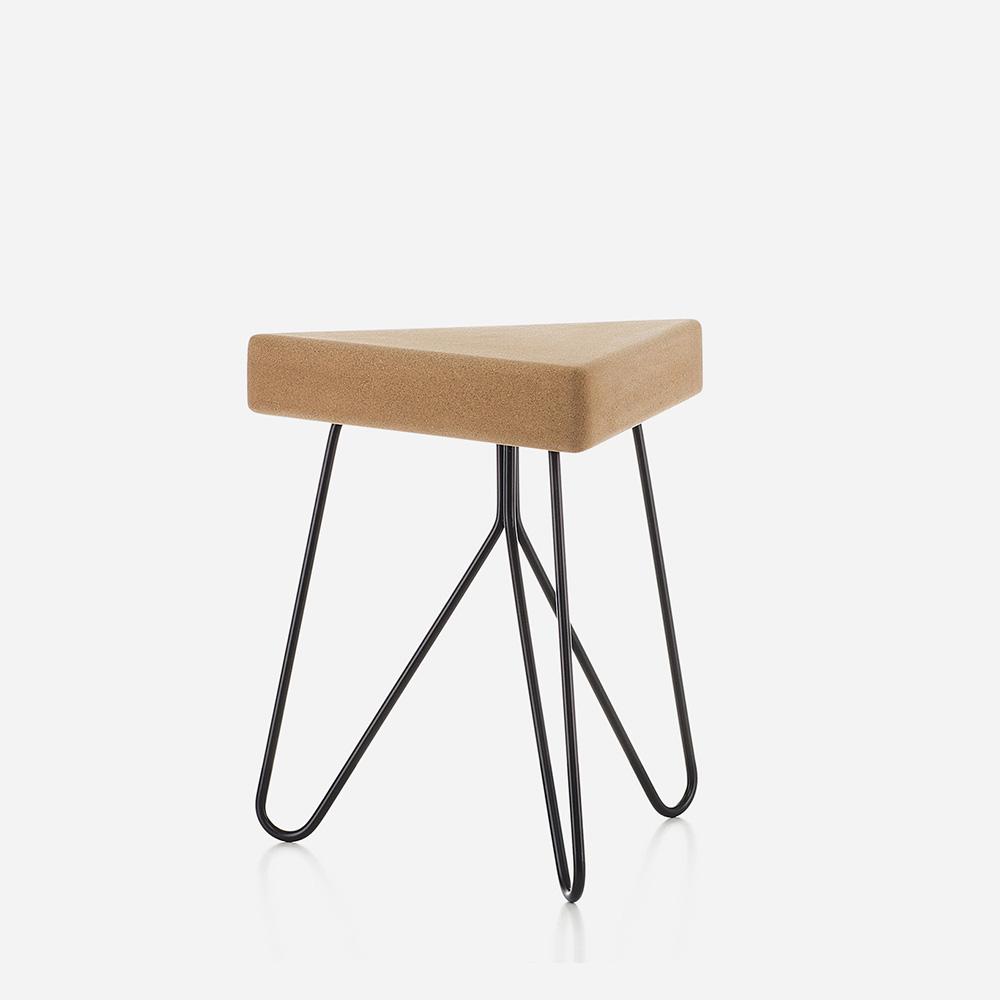Galula Tres modular cork stool or table