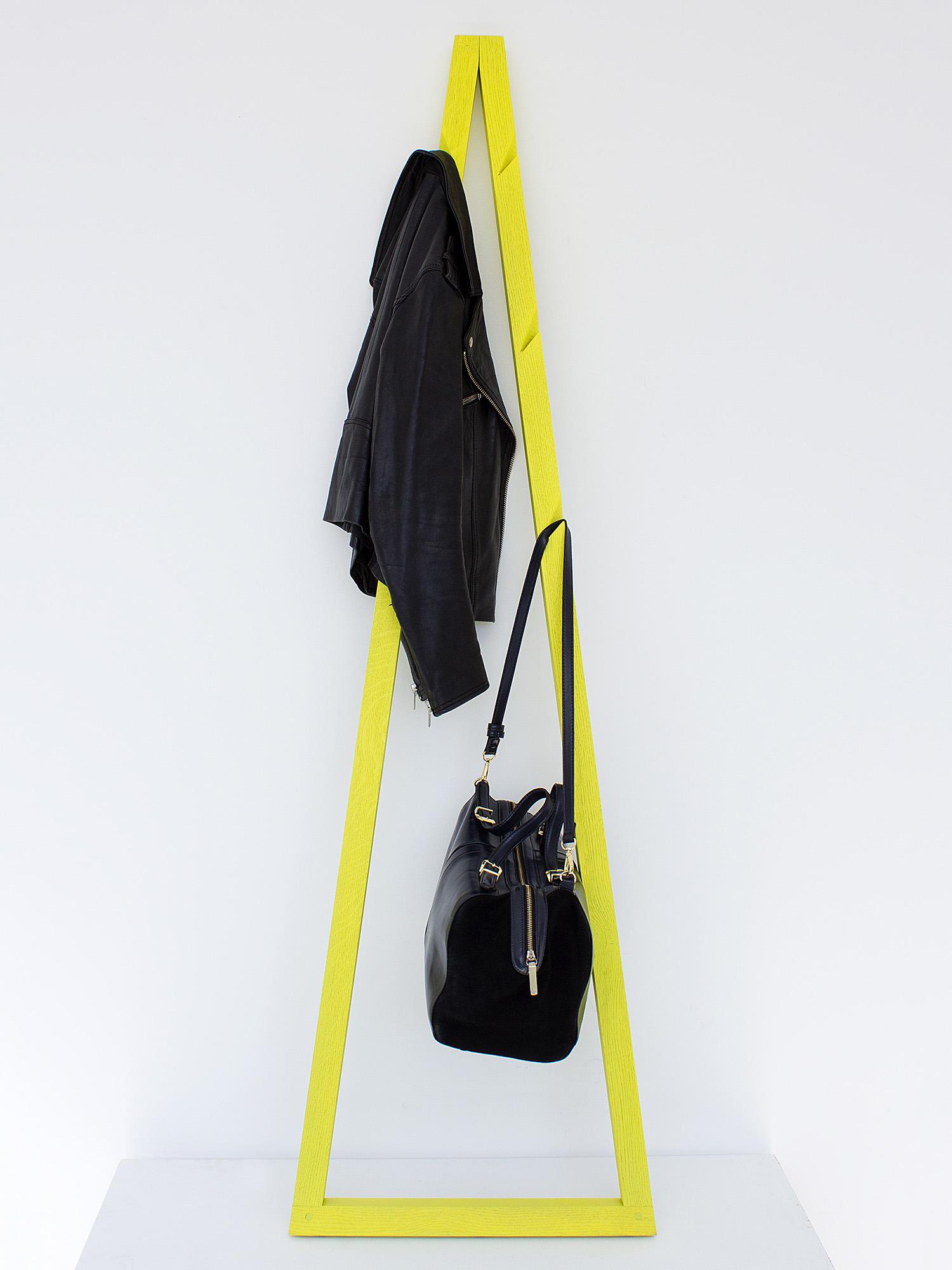 Galula | Pendura coat rack, yellow