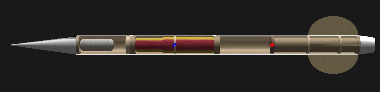 Final rocket design chosen using an MBSE design approach    SOURCE :  METAMORPH, INC.
