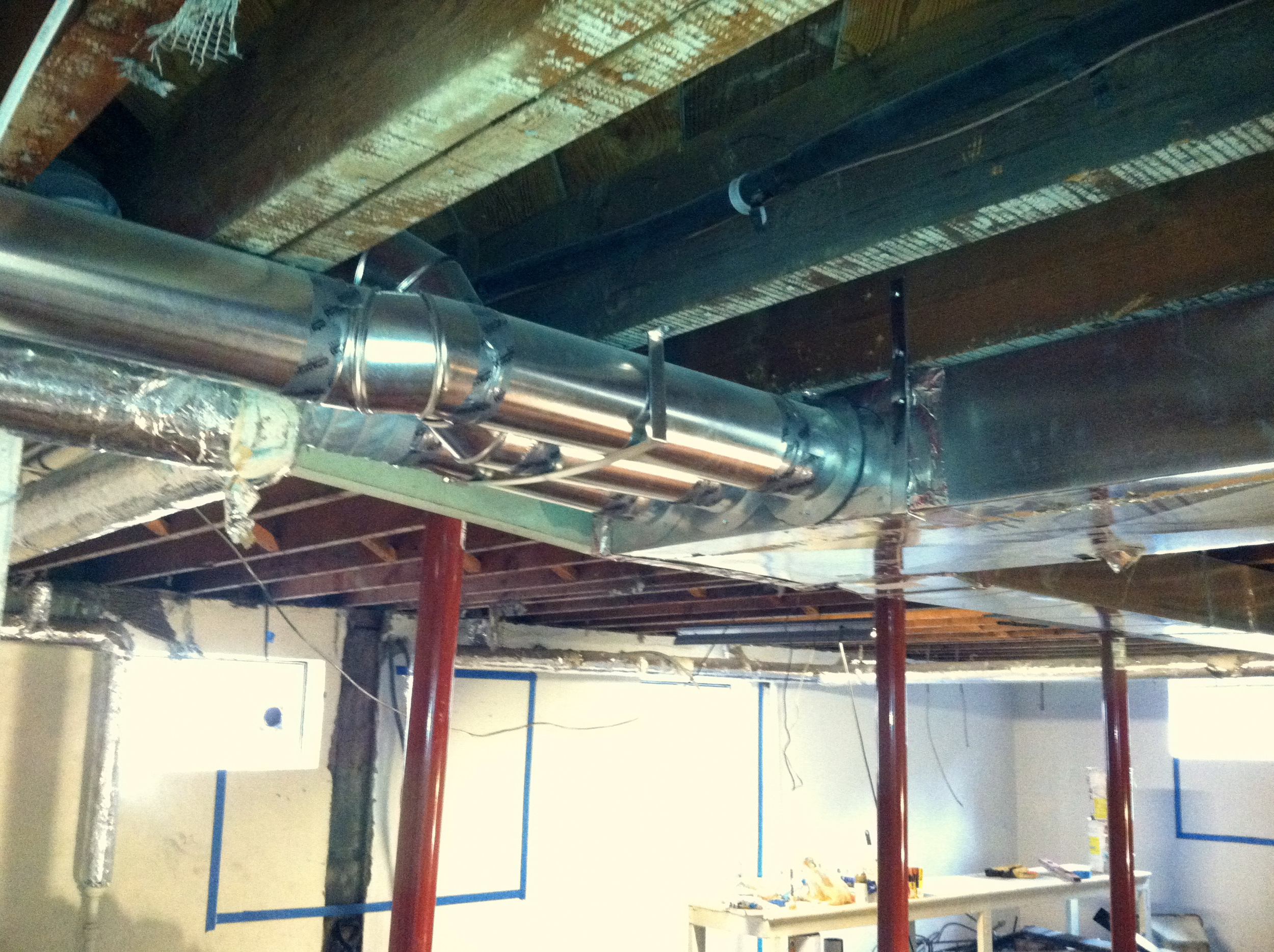 New Duct Work