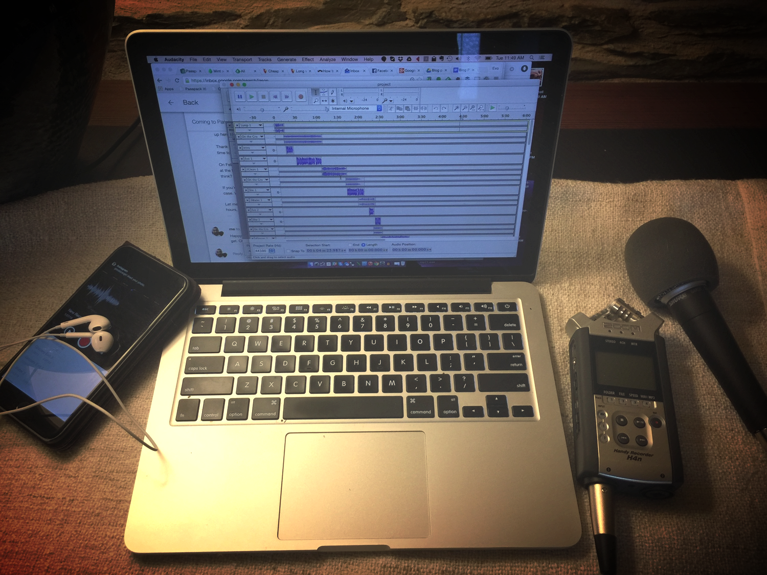 How does the magic of our podcast come together? You're looking at it.