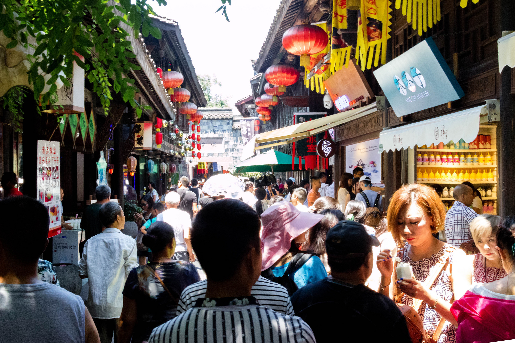 Jinli Street by sheiladeeisme, on Flickr