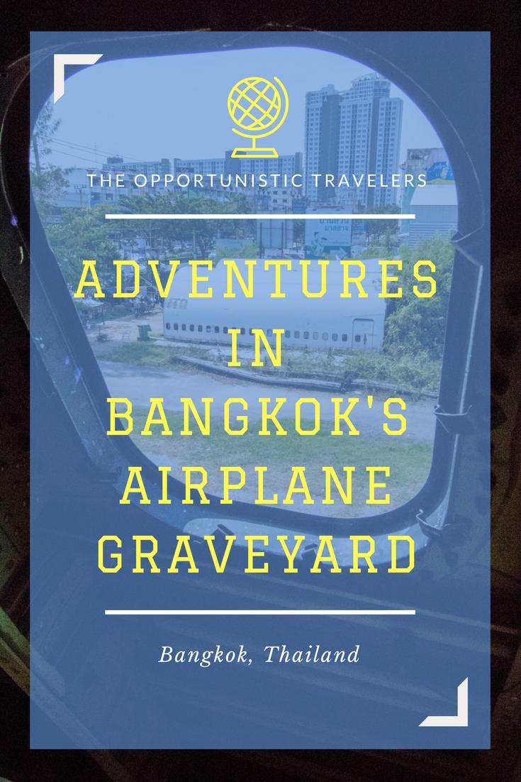 Adventures in an Airplane Graveyard