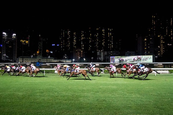 Off to the races in Hong kong. Image via Sheila Dee