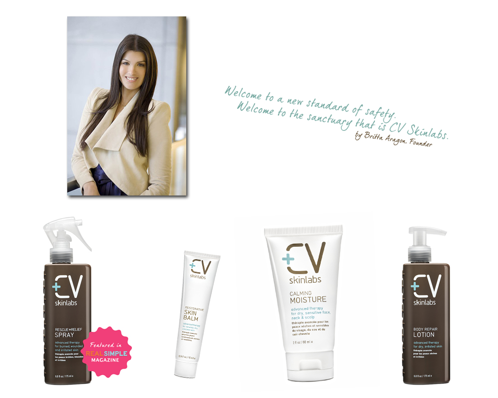 INTERVIEW FEATURE:  BRITTA ARAGON, FOUNDER OF CV SKINLABS