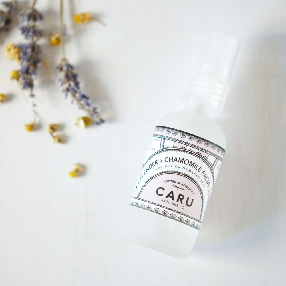 PRODUCT REVIEW:  LAVENDER + CHAMOMILE FACIAL TONER