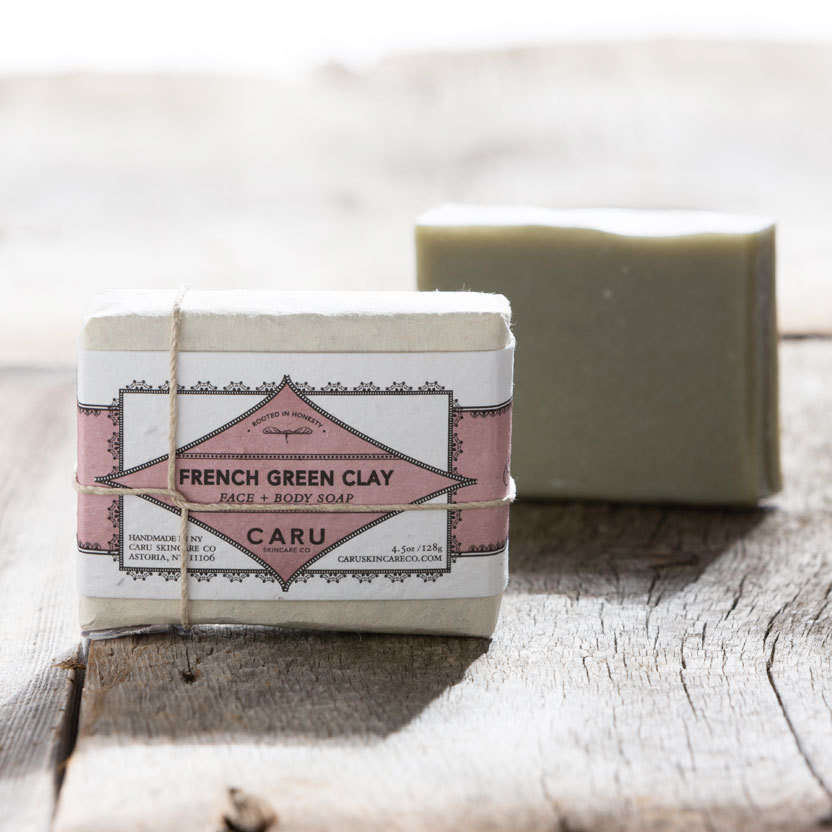 PRODUCT REVIEW:  FRENCH GREEN CLAY FACE + BODY SOAP