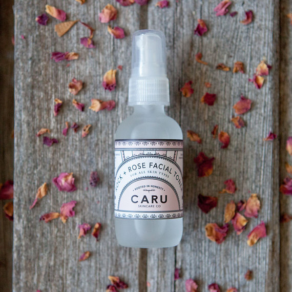 PRODUCT REVIEW:  ROCK + ROSE TONER BY CARU SKINCARE CO.