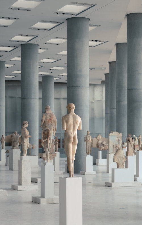 Museography Study for the new Acropolis Museum