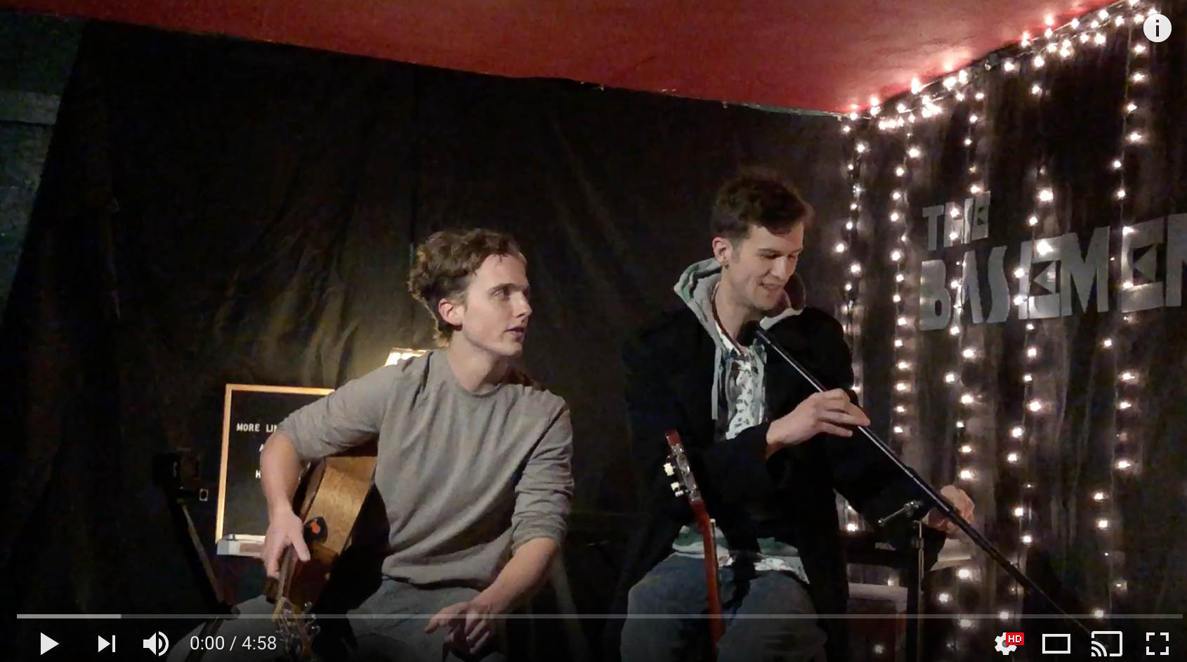 Two Toms, No Mic - Tom and Tom continue their shtick at No Mic Open Mic of making everyone else sound more talented and prepared. You're welcome, and just wait. One of these times we will remember most of the words.