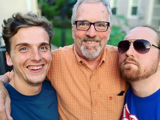 Lol those faces — Something something family time sharpens the blade.  One of Tom's favorite family traditions is called #philosopherkings. A roughly monthly gathering of Tom's dad and brothers to nerd out.