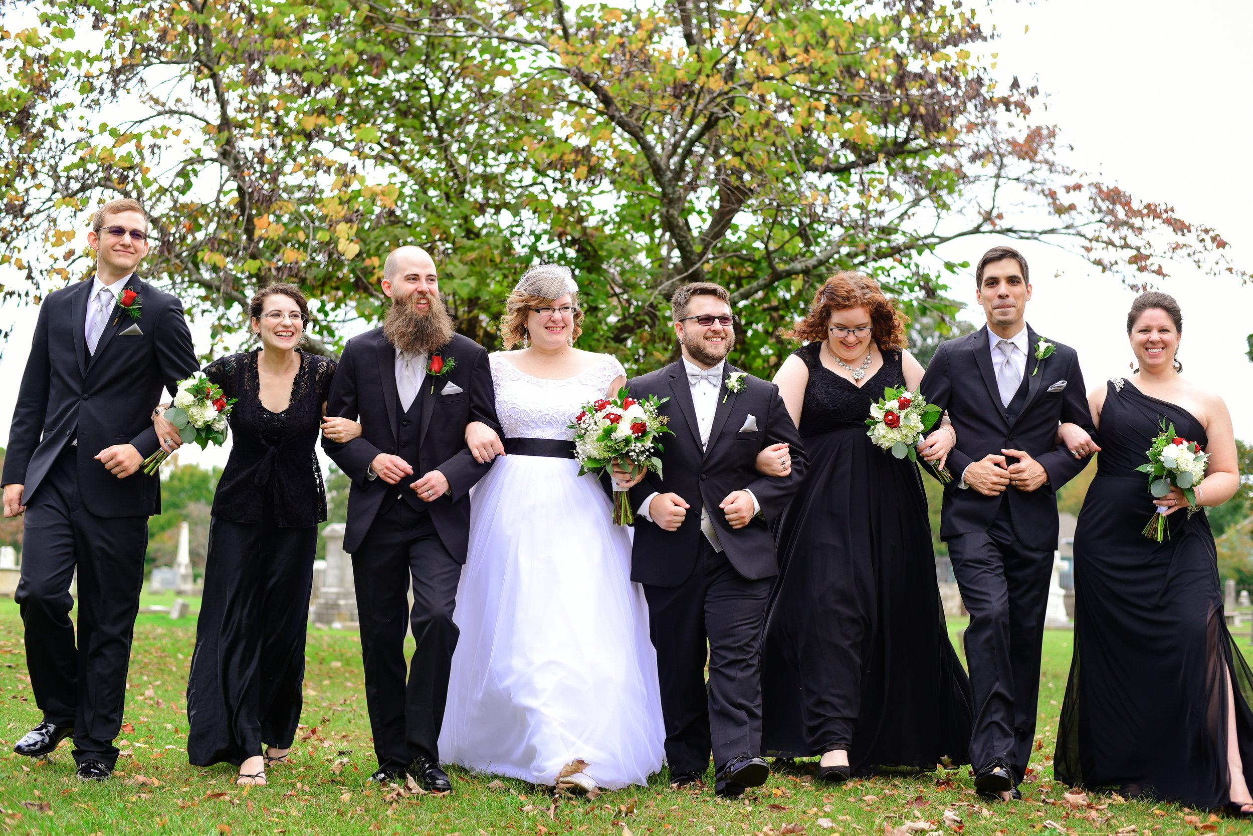 All Saints Chapel Wedding