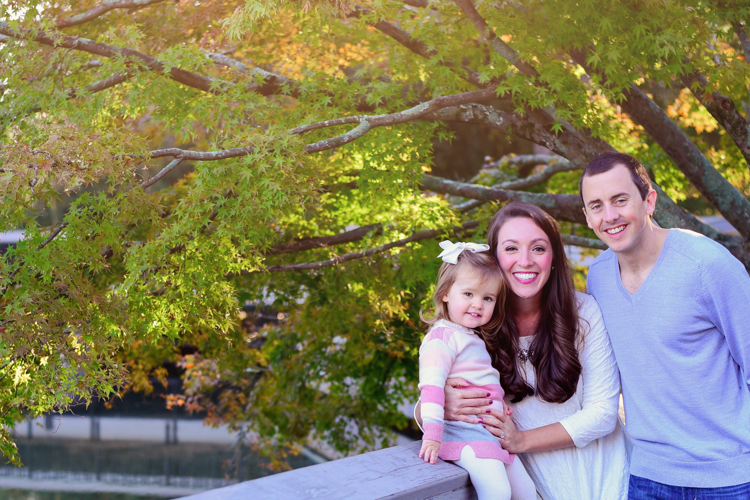 Family Photos at Pullen Park