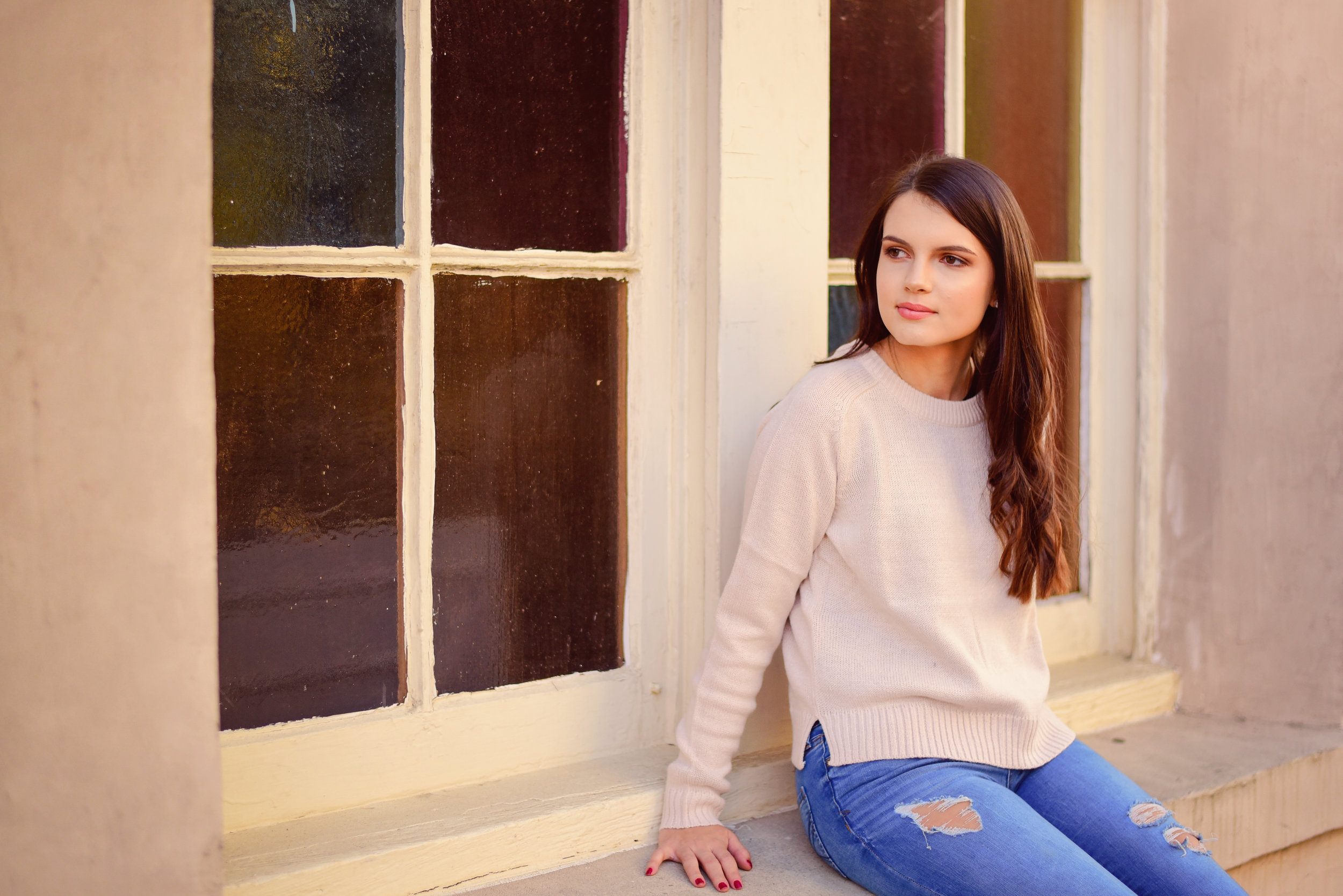 Downtown Senior Portraits