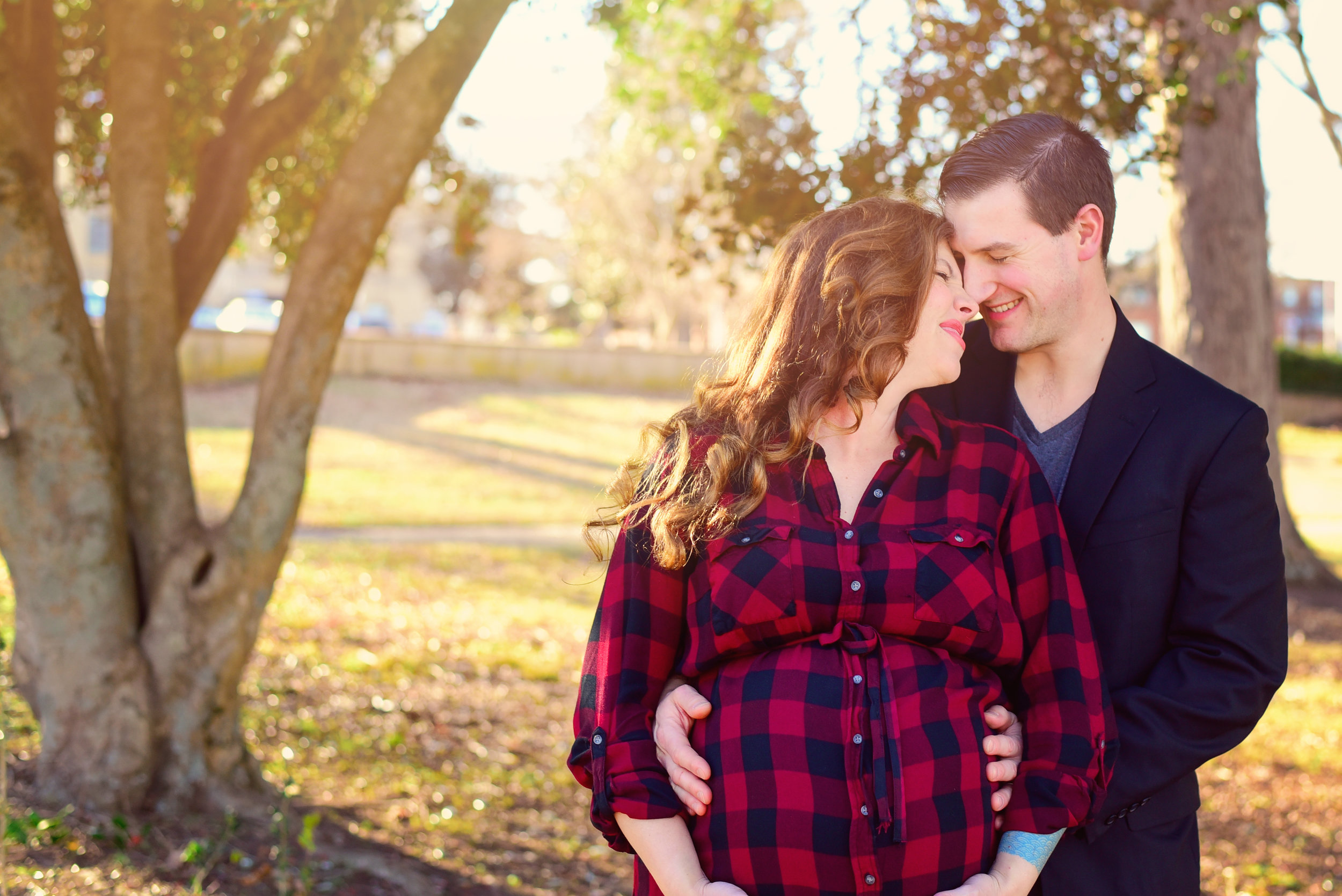 Maternity Photos at Dorothea Dix Park