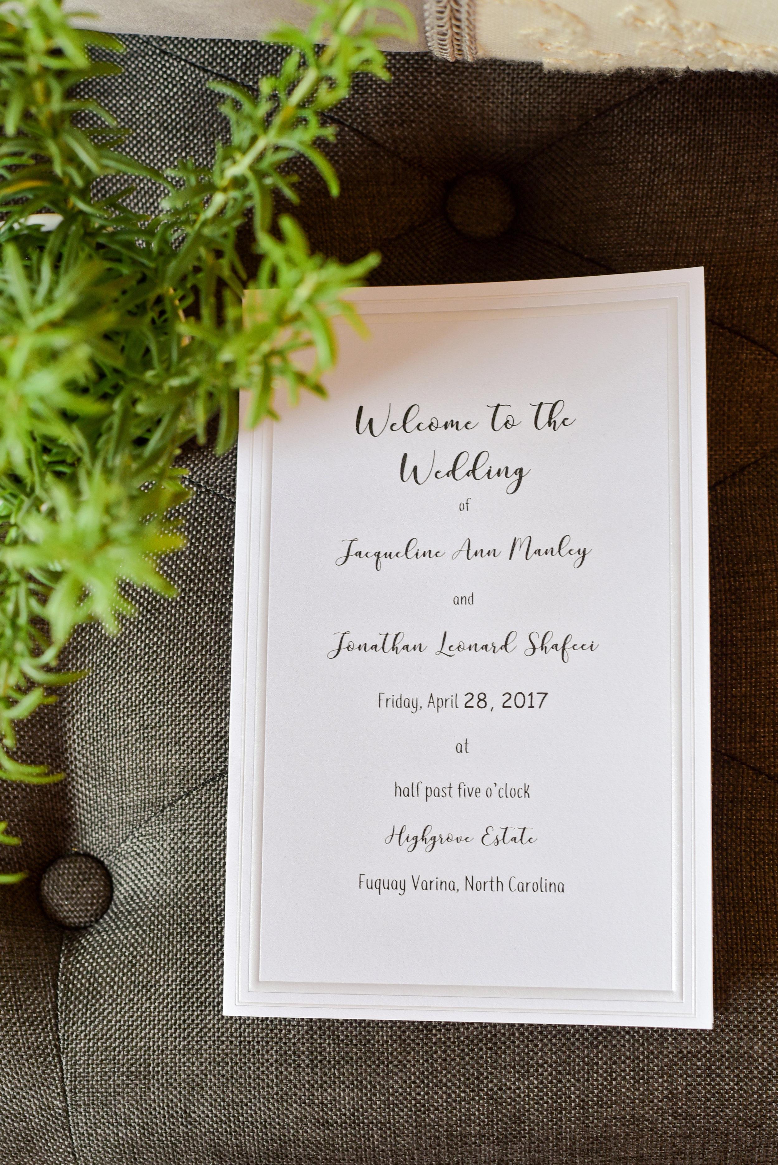 Highgrove Estate Wedding