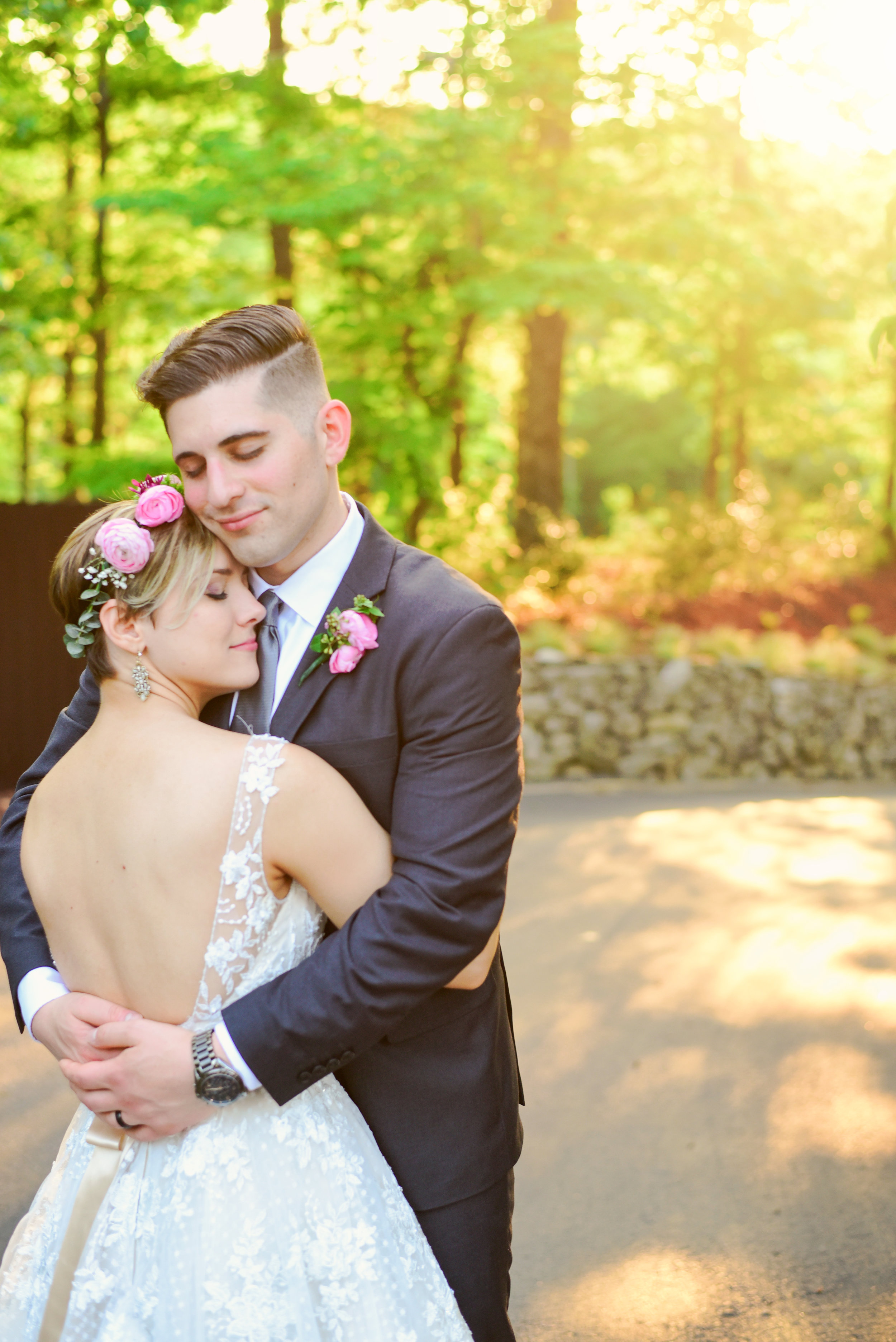 Highgrove Estate Bride and Groom