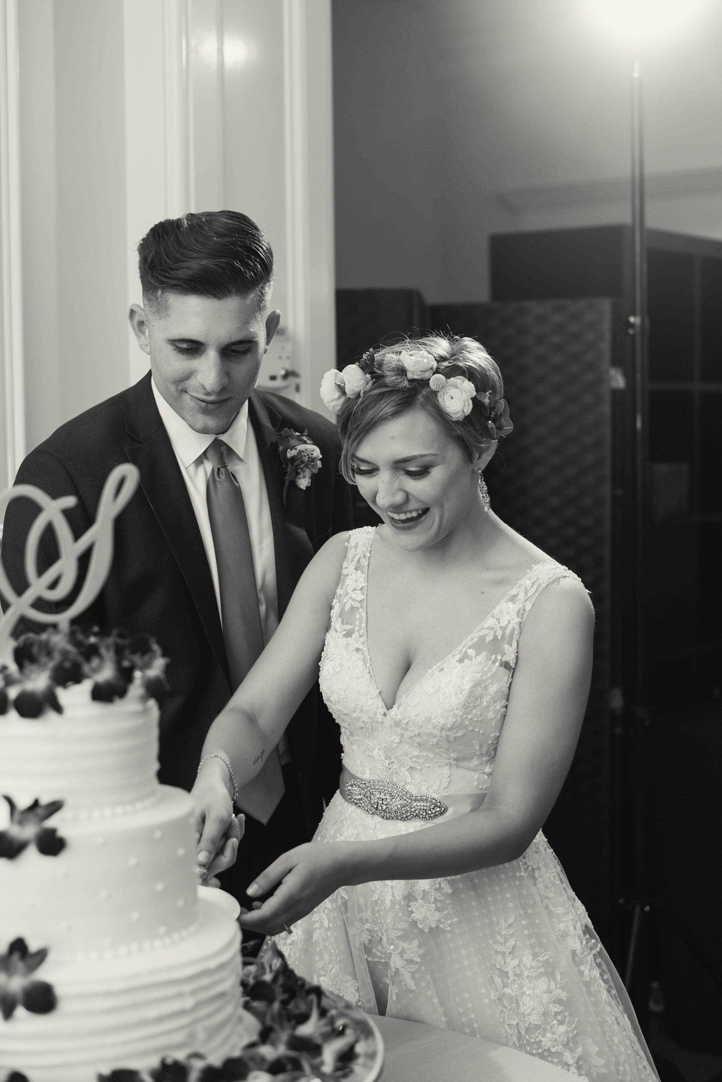 Highgrove Estate cake cutting