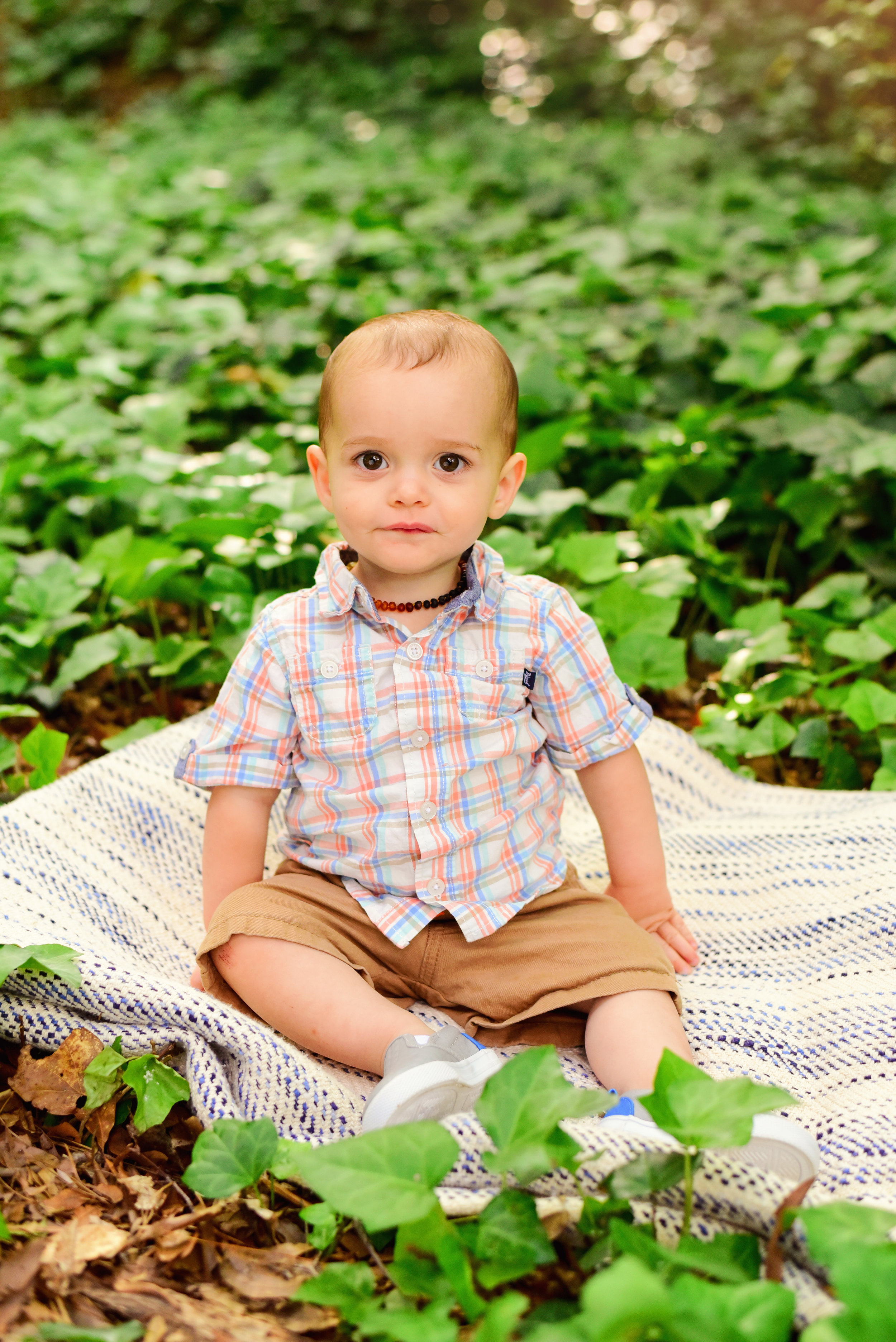 Raleigh Little Theatre Rose Garden Family Photos