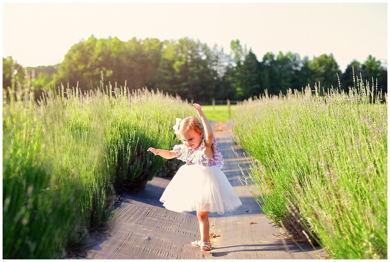 Lavender Garden Photo Shoot