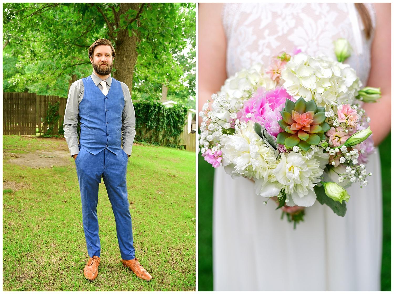 Raleigh Little Theatre Rose Garden Wedding