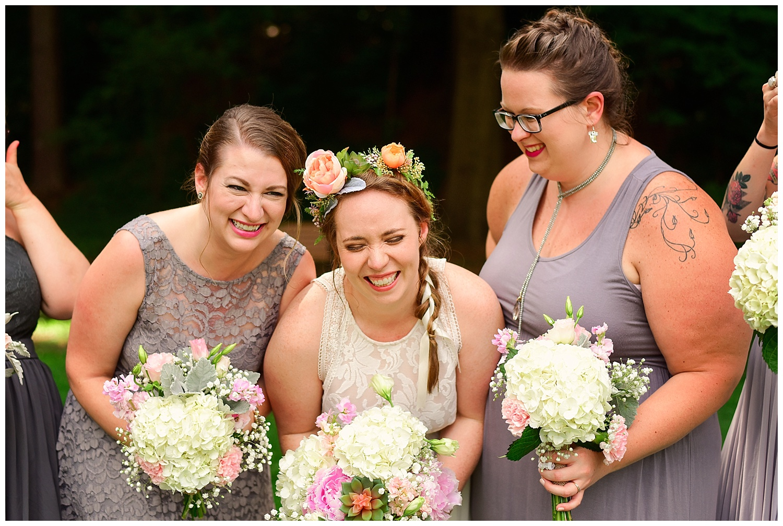 Rose Garden Bridal Party