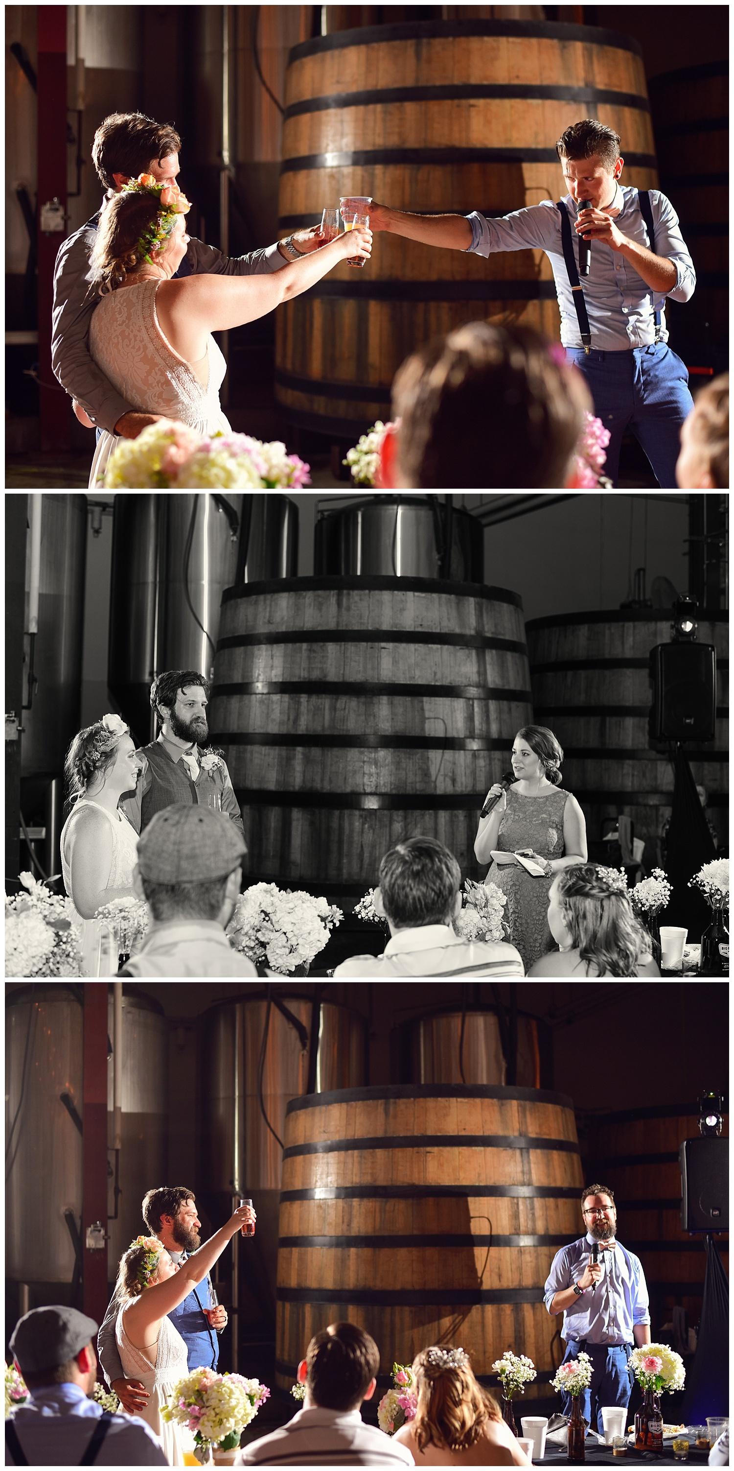 Big Boss Brewing Wedding