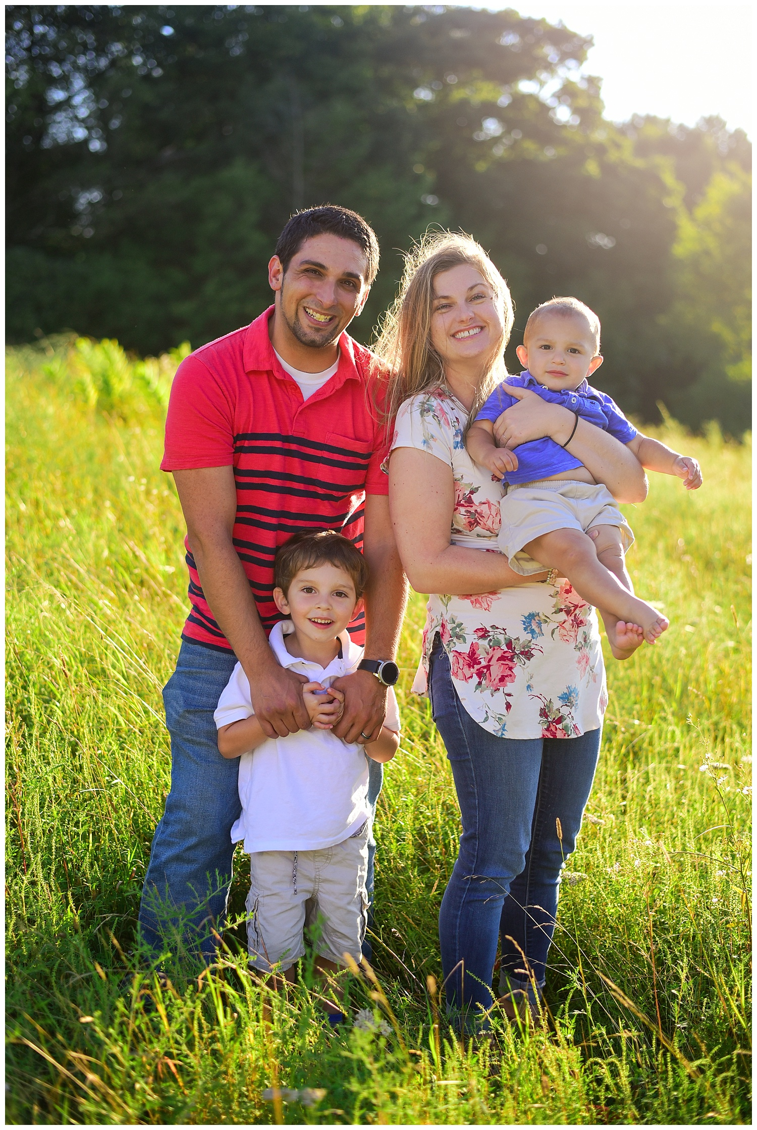 Family Portraits at Moses Cone