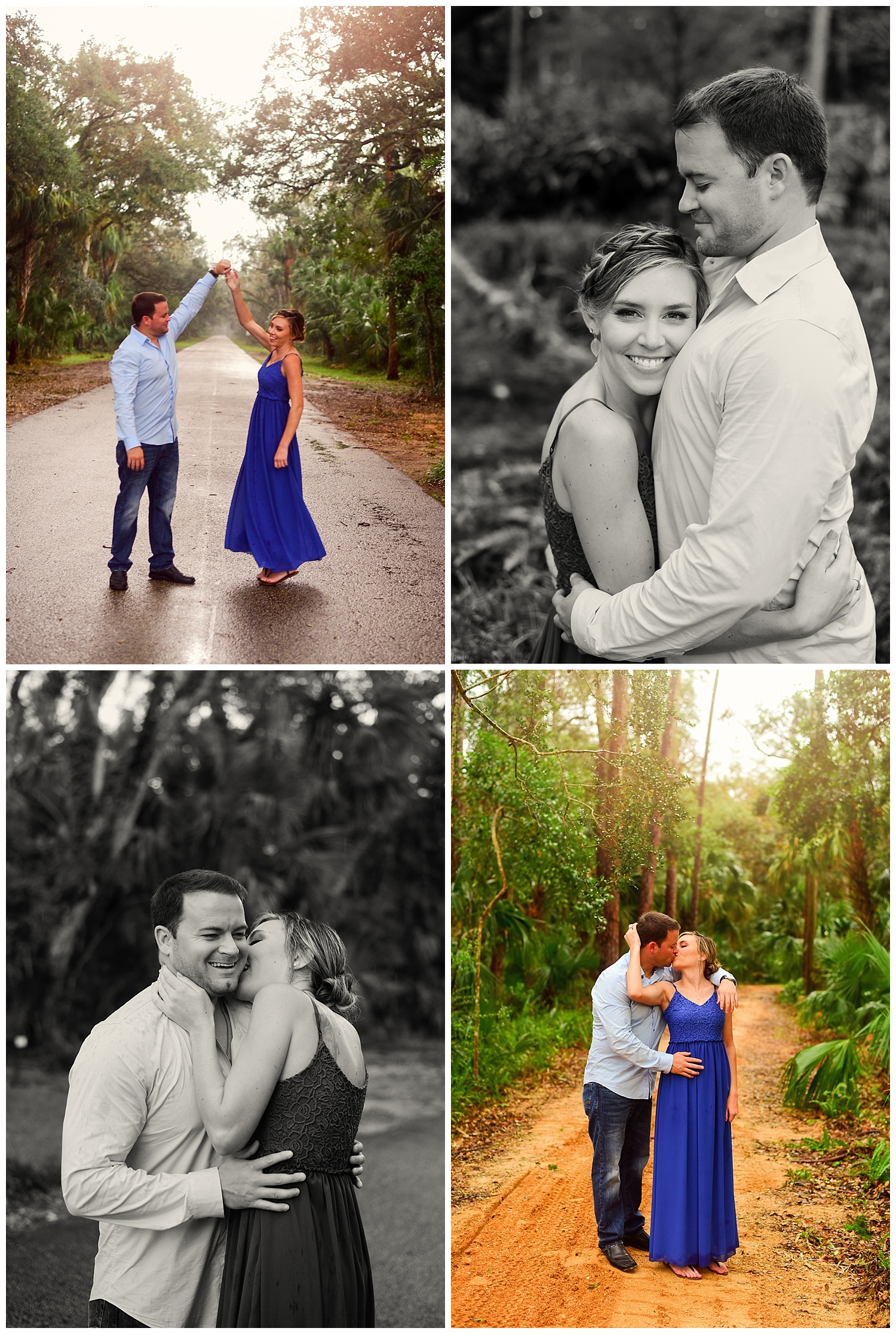 Washington Oaks Engagement Session