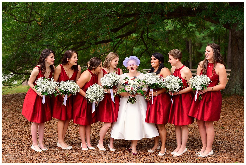 Oaks of Salem Wedding