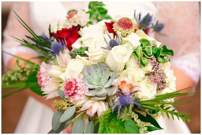 Bloomworks wedding bouquet