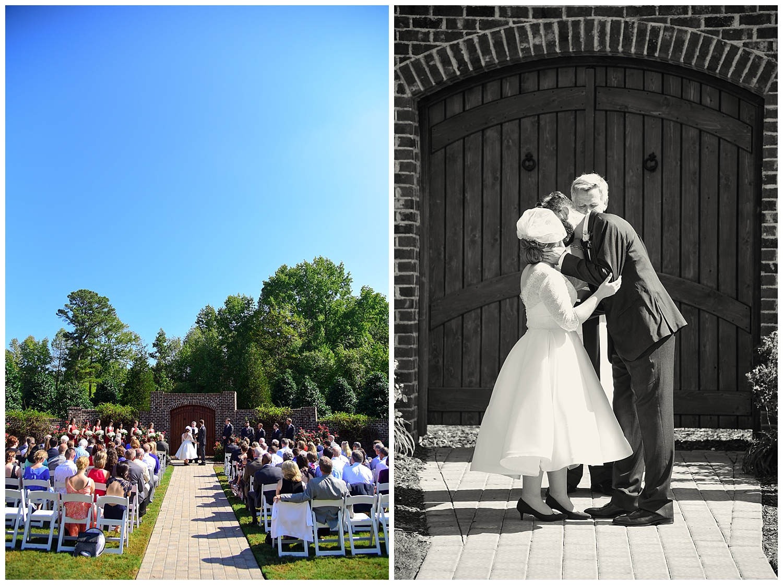 Oaks of Salem Wedding ceremony
