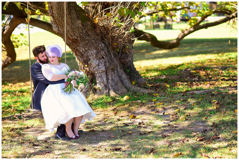 Oaks at Salem Wedding
