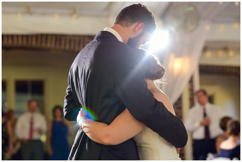 Oaks at Salem Wedding first dance
