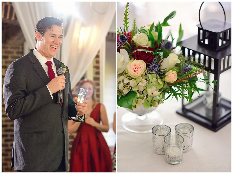 Oaks at Salem Wedding reception