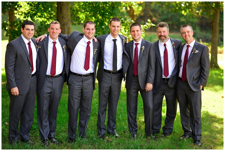 Golf Course Wedding groomsmen