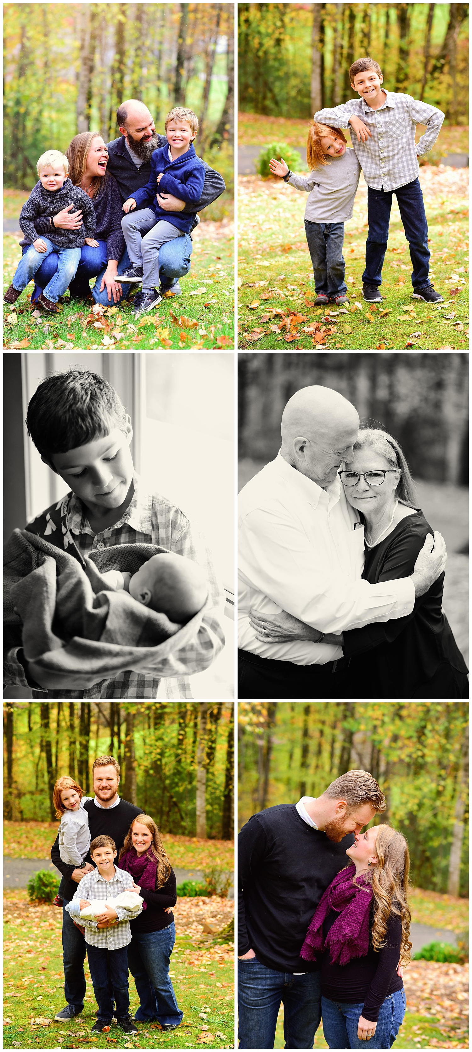 Extended Family Session, Boone NC