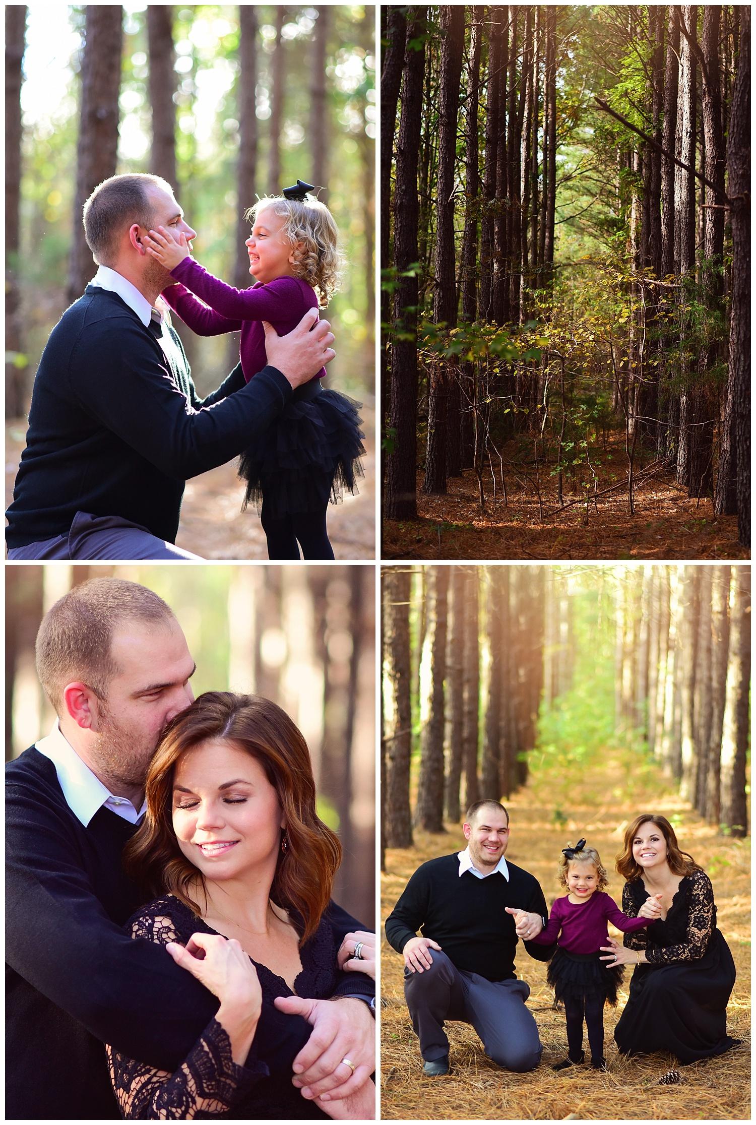 Tree Farm family portraits