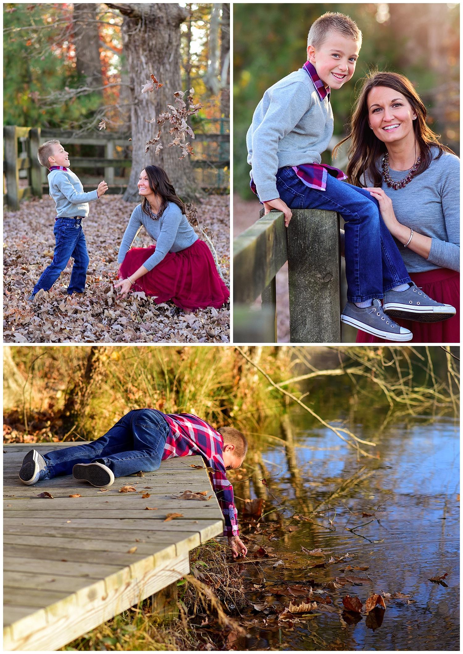 Yates mill park family photos