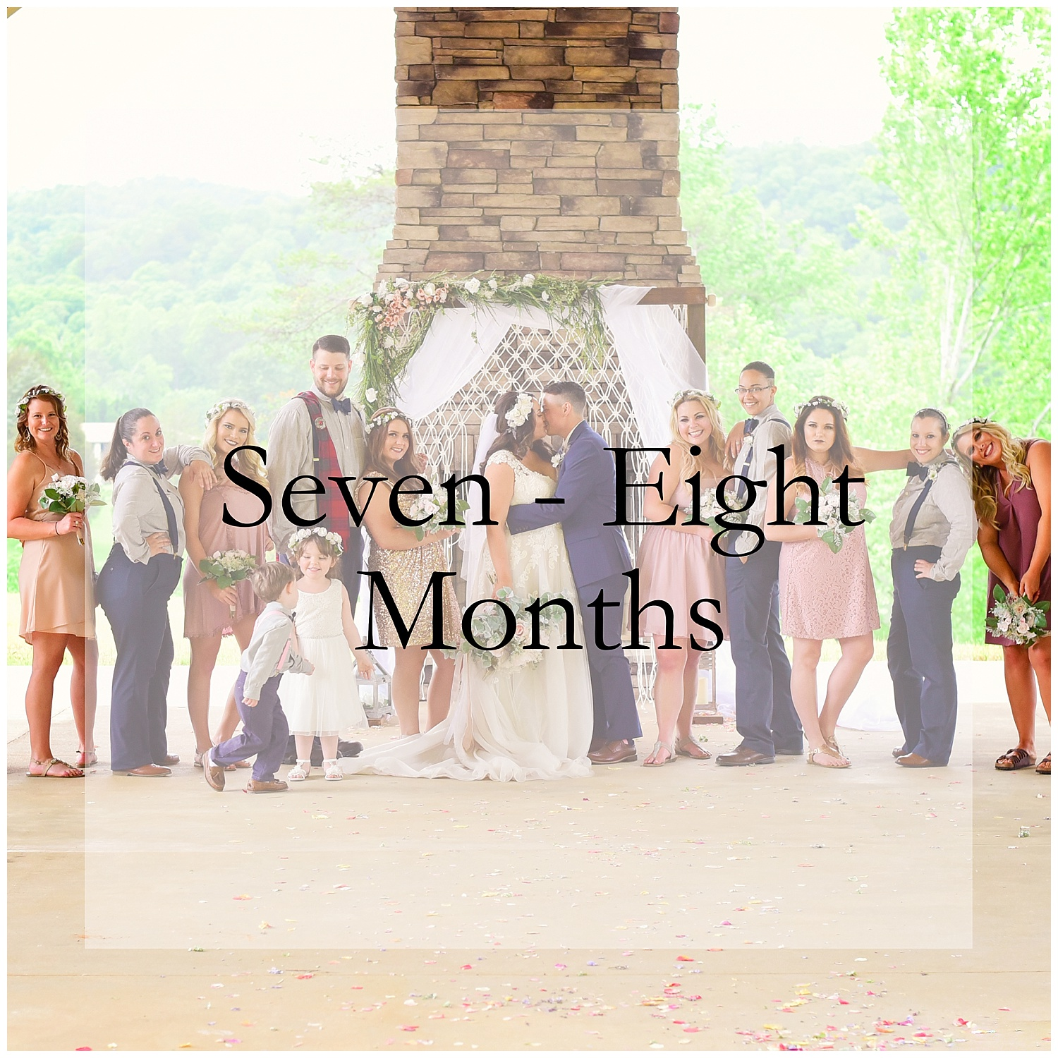 what to do 7 months before wedding
