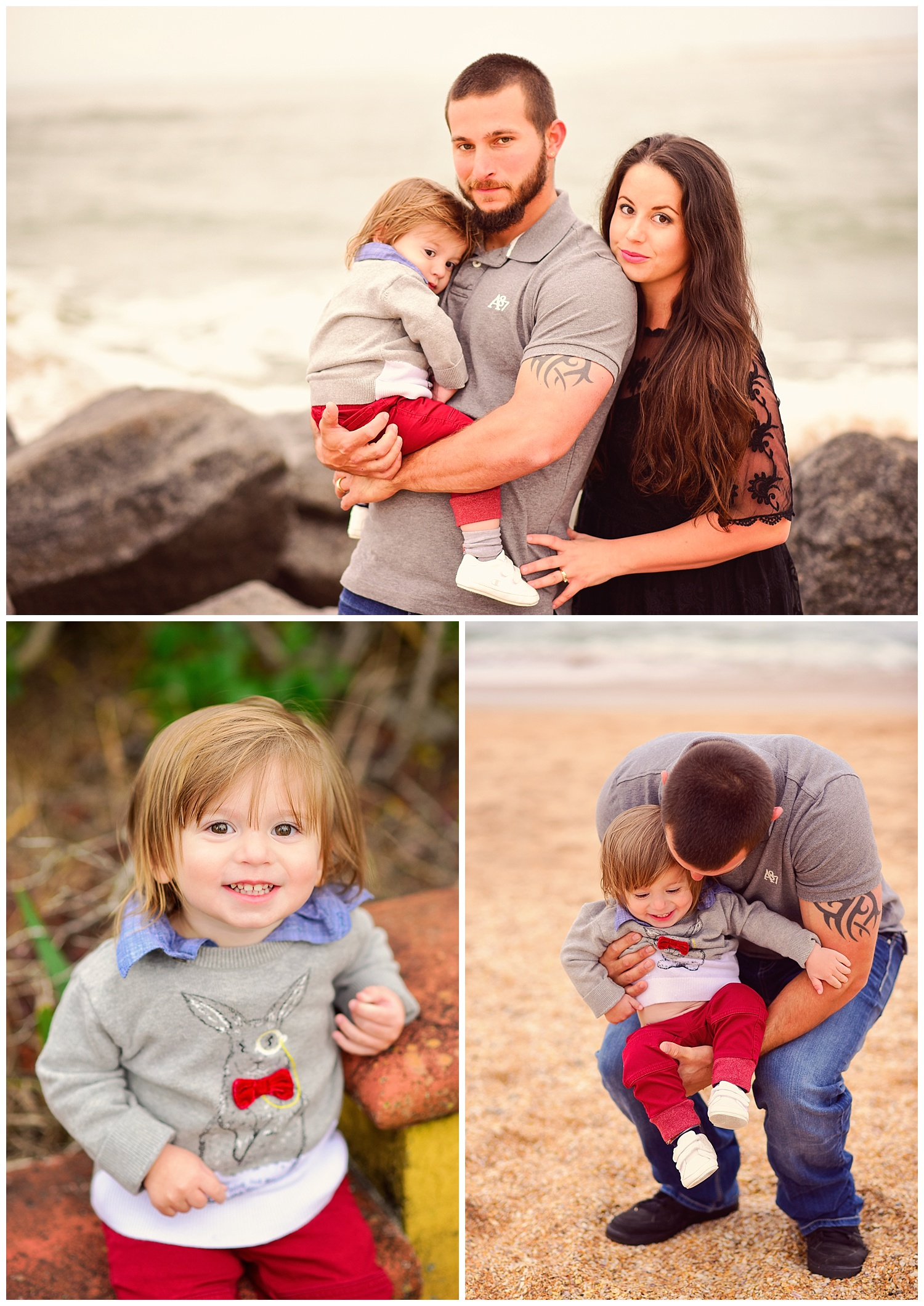 Family Portraits on the Beach