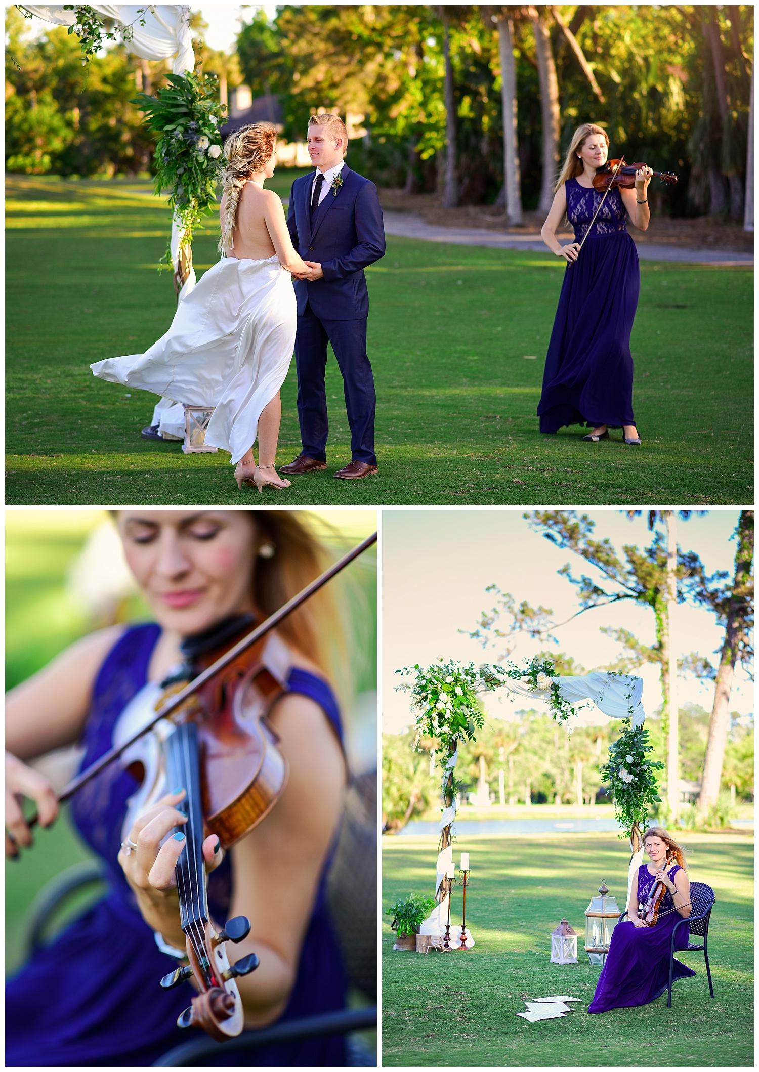 Adagio Weddings Violinist Daria