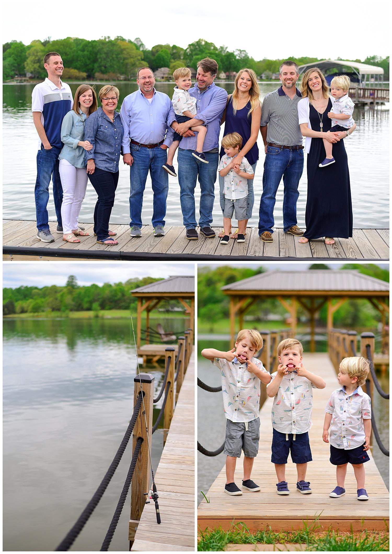 Lake House Photo Shoot