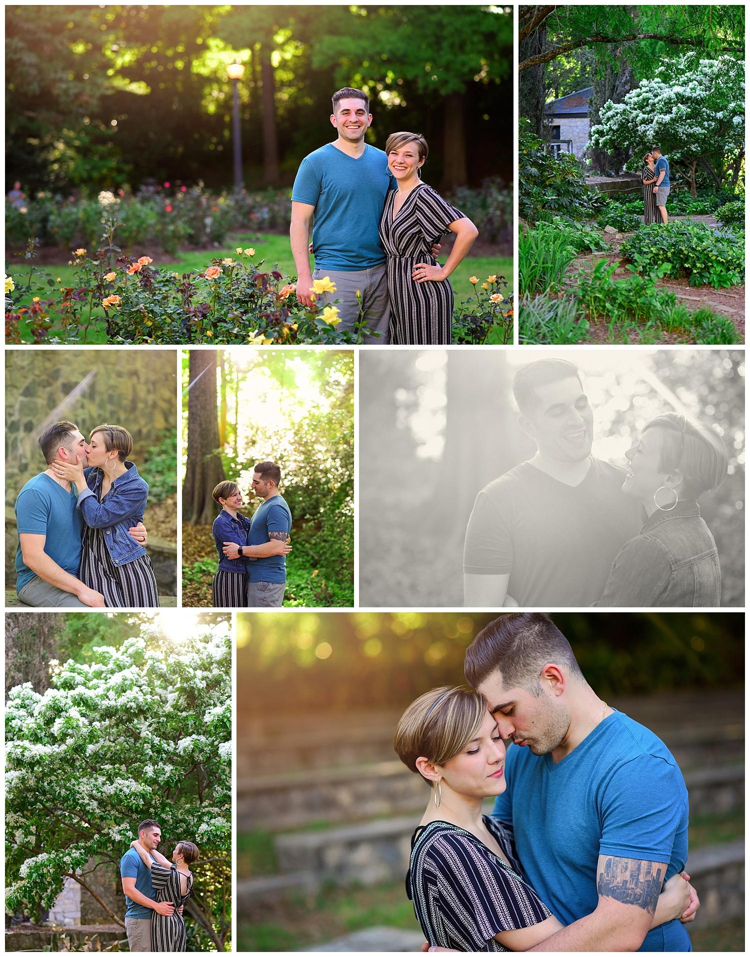Rose Garden Anniversary Photos