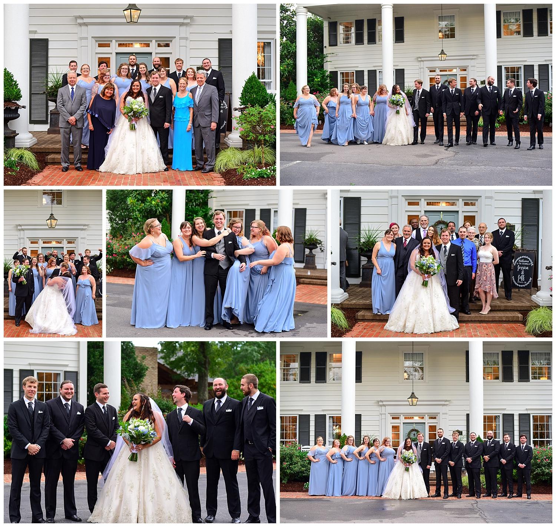 Highgrove Estate Wedding Party