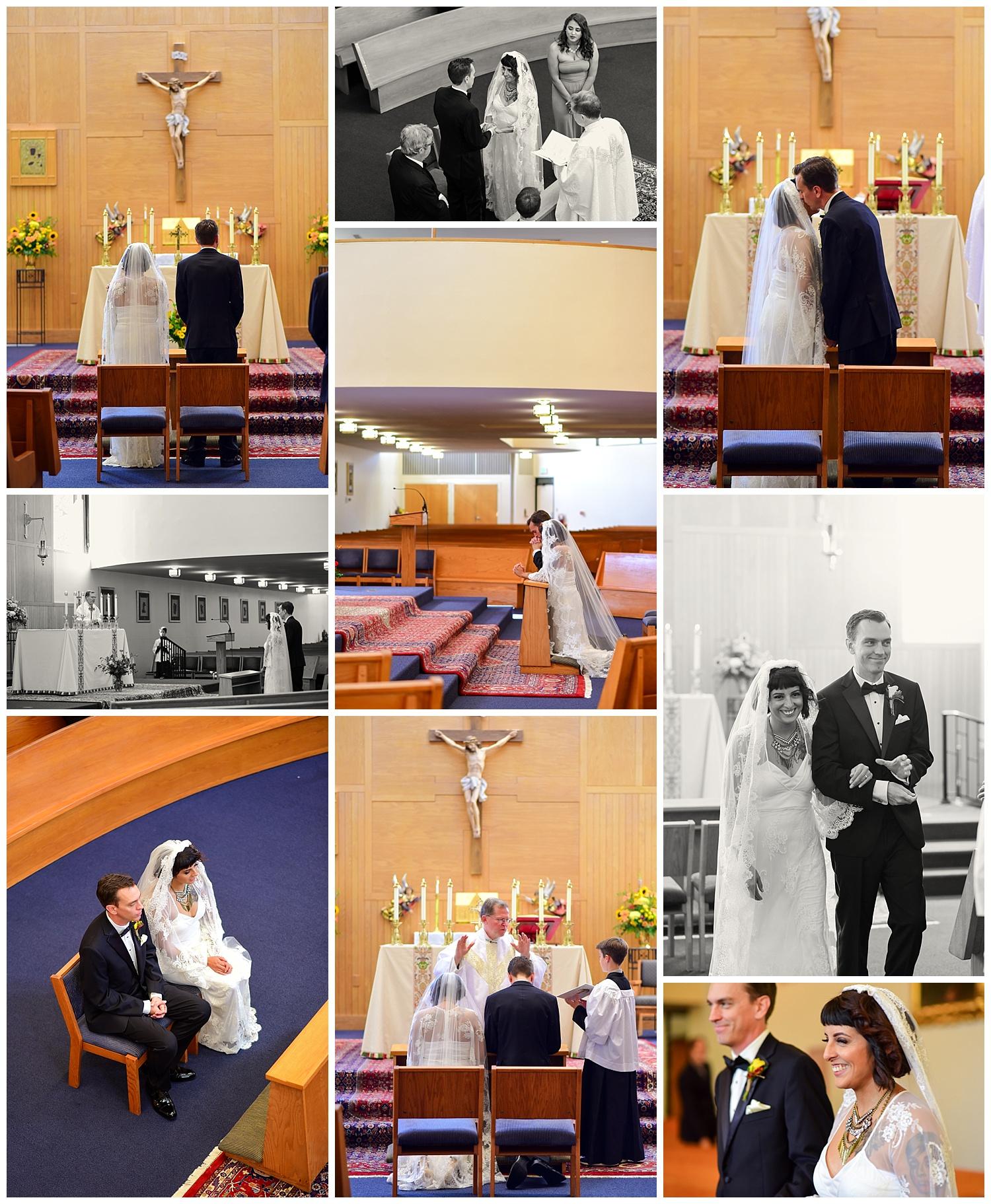 Our Lady of Lourdes Catholic Wedding