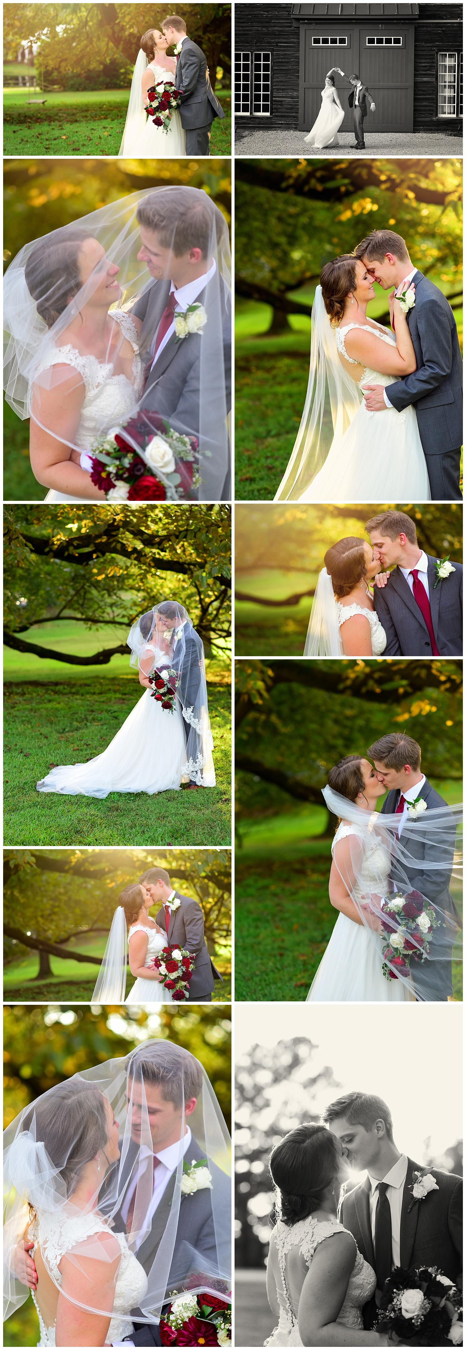 Oaks at Salem Fall Wedding