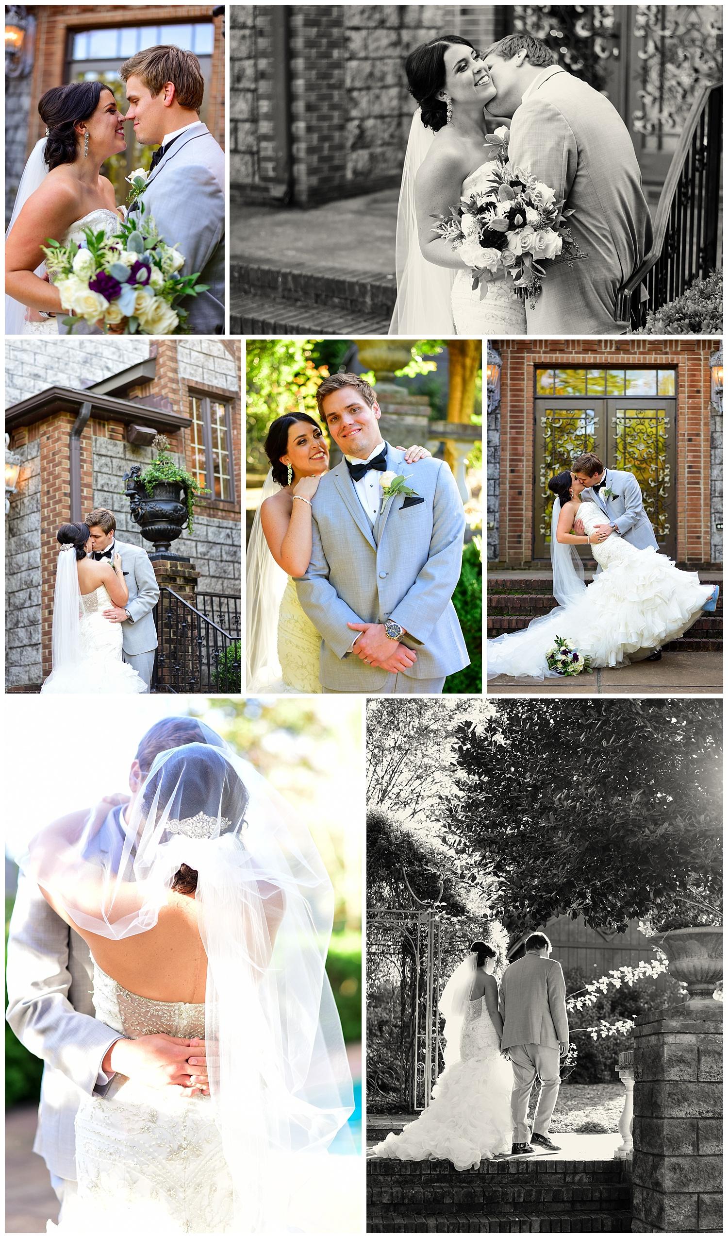 Wedding at Barclay Villa in Angier NC