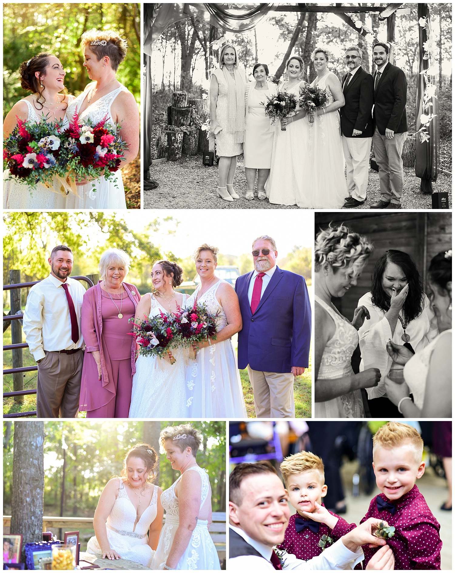 LGBTQ wedding in North Carolina