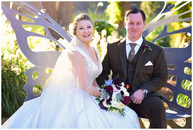 Pavillions at Angus Barn Fall Wedding